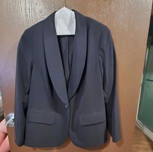 Size 20 Lane Bryant Black Suit Jacket Blazer